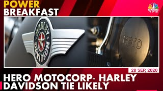 Hero MotoCorp Pitches For Technology Sharing Pact With Harley-Davidson | Power Breakfast  IMAGES, GIF, ANIMATED GIF, WALLPAPER, STICKER FOR WHATSAPP & FACEBOOK