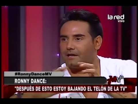 Ronny Dance se retira de la televisión
