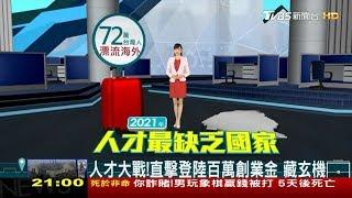 《人才去哪兒?》淚「很愛台灣 但回不去了⋯」是誰關上了回家的門