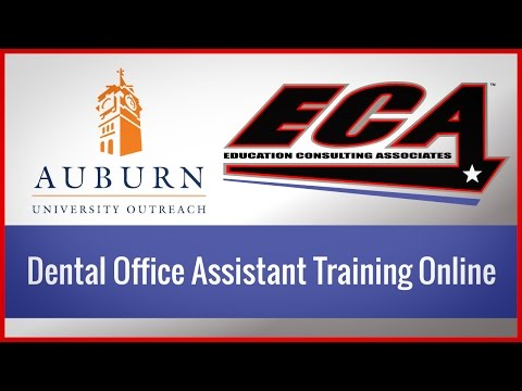 Dental Office Assistant Training Online - YouTube