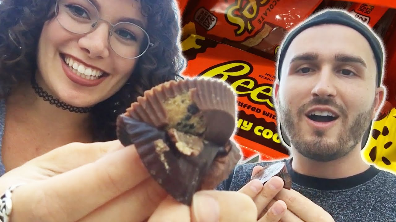Reese's Lovers Try Reese's Crunchy Cookie (Re-upload) thumbnail