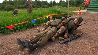 Ангелы-хранители бойцов на поле боя: как проходил конкурс АрМИ-2018 «Военно-медицинская эстафета»