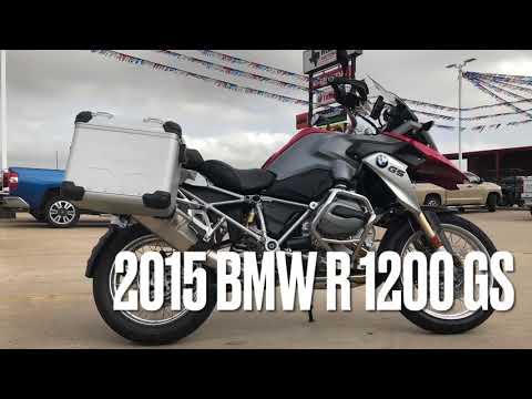 2015 BMW R 1200 GS at Wild West Motoplex