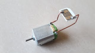 Sim Card Using Free Energy Generator