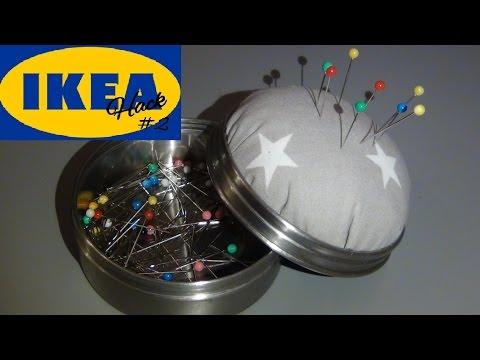 IKEA Hack #2/ DIY Stecknadelkissen 3 in 1/ Geschenkidee