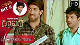 Yash's super kannada dialogues   Drama Kannada Movie   Kannada Comedy Scenes   Radhika Pandith
