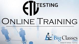 ETL Testing Tutorials For Beginners Part 1 - BigClasses