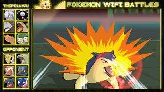 Typhlosion  - (Pokémon) - The Terror of Typhlosion! (Pokemon X and Y Wifi Battle)