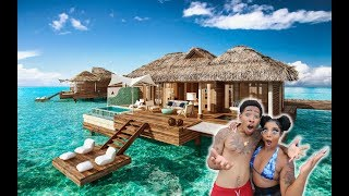 ST.LUCIA OVERWATER BUNGALOW TOUR!!!