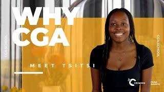youtube video thumbnail - Why CGA? | Meet Crimson Global Academy Student Tsitsi