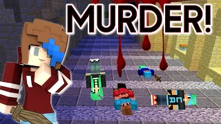 MINECRAFT LET'S PLAY MURDER | MIRACLES IN MURDICLES | PARTY ZONE SERVER