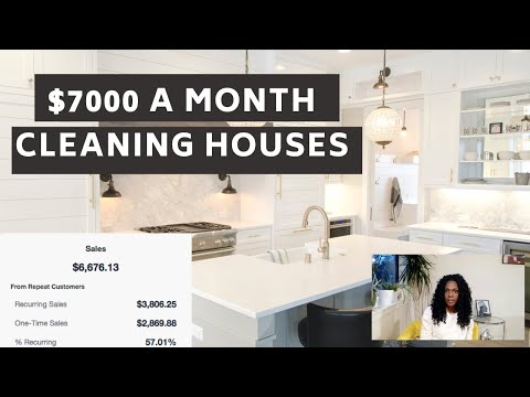 STARTING A HOUSE CLEANING BUSINESS IN 2020: Cheap Business Ideas