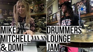 Mike Mitchell & DOMi - Drummers Lounge Jam