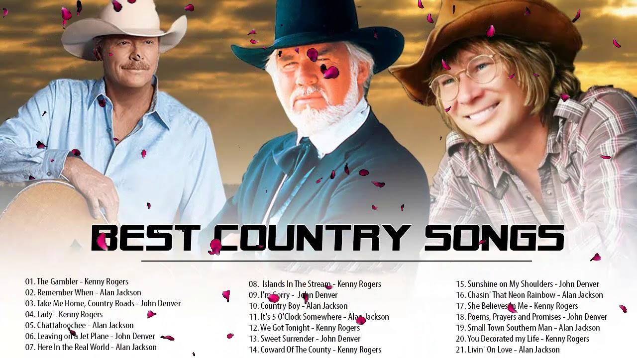 Kenny Rogers, Alan Jackson, John Denver : Greatest Hits