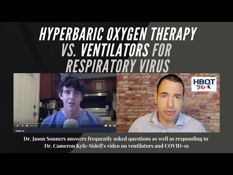 Hyperbaric Oxygen Therapy (HBOT) increases oxygenation of cells and tissues back to a healthy level that supports recovery without mechanical distress or pressure on the lungs.