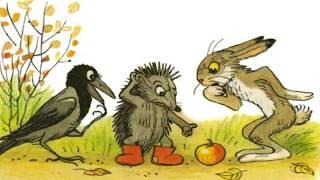 """""""Яблоко"""" Веселые сказки для детей. Сказки Сутеева с красочными картинками. (Full HD)"""