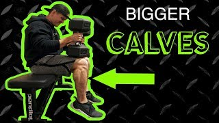 Intense Calf Finisher Workout Routine | Anabolic Superset by Anabolic Aliens