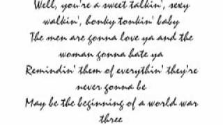 Travis Tritt~ T-R-O-U-B-L-E Lyrics