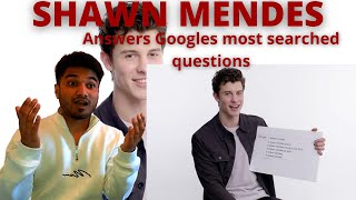 Shawn Mendes Answers Googles Most Searched Questions (UK REACTION!!)