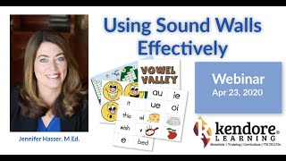 Using Sound Walls Effectively: A Kendore Learning Webinar