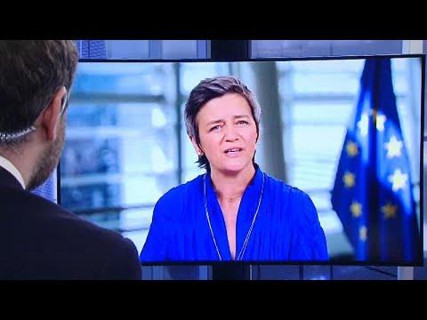 Η εκτελεστική αντιπρόεδρος της Κομισιόν Μ. Βεστάγκερ στο Euronews…
