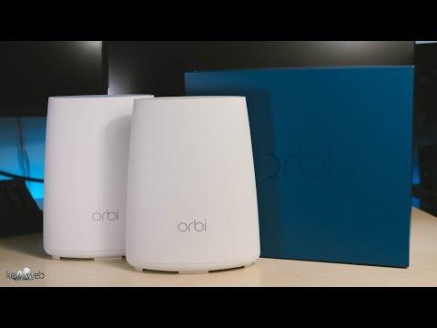 Netgear Orbi RBK40: sistema Wi-Fi tri-band intelligente