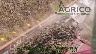 Жатка для уборки подсолнечника john greaves (Джон Гривз) от компании Агрикомаш ООО - видео