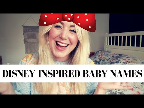 TOP DISNEY BABY NAMES FOR GIRLS AND BOYS | SJ STRUM BABY NAME MONDAY