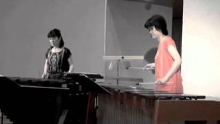 Marimba Duo まったりんば 『Ashitakasekki』wmv