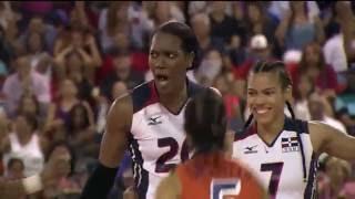 Republica Dominicana vs Puerto Rico - XV Copa Panamericana de Voleibol 2016 Final - Parte 2