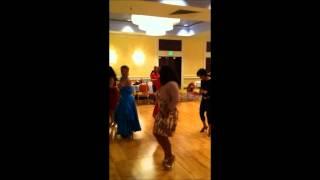 "Dance With Me Studios Summer Invitational. Tony Dovolani & Sherri Shepherd ""Cupid Shuffle"""