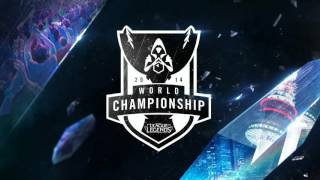 League of Legends World Championship 2014 2015 All RIOT music + list