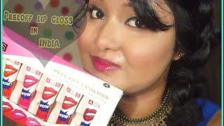 Peel-Off Lip Gloss In India | Review | Deblina Chakraborty