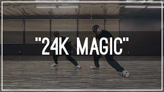 Bruno Mars 24K Magic Choreography By Mike Song & Tony Tran  Kinjaz Dojo