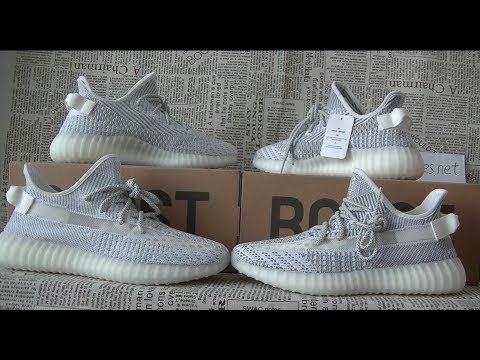 Unboxing Review On Adidas Yeezy Boost 700 V2  Static  Reflecting !!! 2bba07f5a