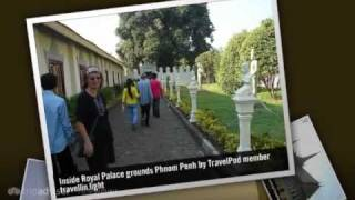 preview picture of video 'Royal Palace - Phnom Penh, Cambodia'