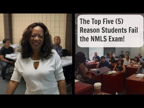Passing the NMLS Exam - Top 5 Reasons Why People Fail the ...