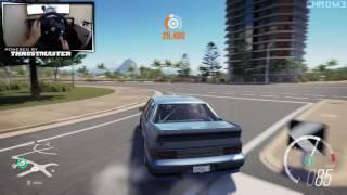 Forza Horizon 3 - Holden VL Commodore Drift Build w/Thrustmaster Wheel Cam