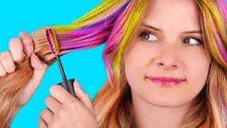 14 Peinados Faciles y Rapidos Para Toda Ocasion / Trucos Para El Cabello Para Todos Los Días