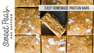 Easy Homemade Protein Bars (Cinnamon Roll)
