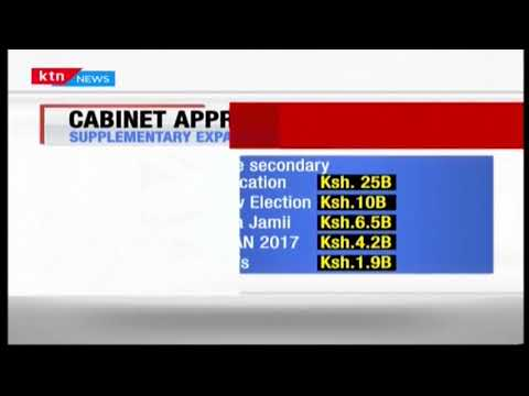 Cabinet approves proposals to implement  new supplementary expenditures