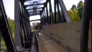preview picture of video 'Prince of Wales Bridge High Rail Inspection South-Bound Ride'
