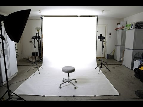 DIY In Home Photo Studio On a Budget
