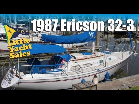 1987 Ericson 32-3 Sailboat for sale at Little Yacht Sales, Kemah Texas
