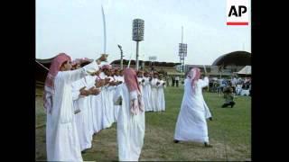 IRAQ: BAGHDAD: PRESIDENT SADDAM HUSSEIN CELEBRATES 60TH BIRTHDAY (1)