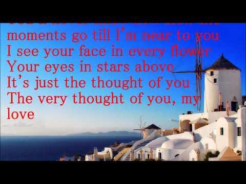 Tony Bennett     The Very Thought of You  lyrics