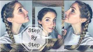 ***EASY FRENCH BRAID TUTORIAL/ HOW TO FRENCH BRAID