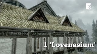 Skyrim Hearthfire Houses with Gameplay - Skyrim Cribs