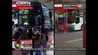 SONA: Bilang ng pasahero sa Parañaque Integrated Terminal Exchange, kumaunti
