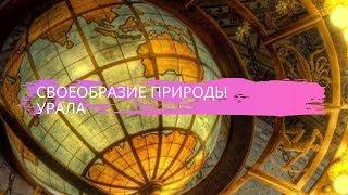 География 8 класс $39 Своеобразие природы Урала